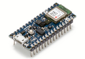 Arduino Nano 33 BLE Sense with headers
